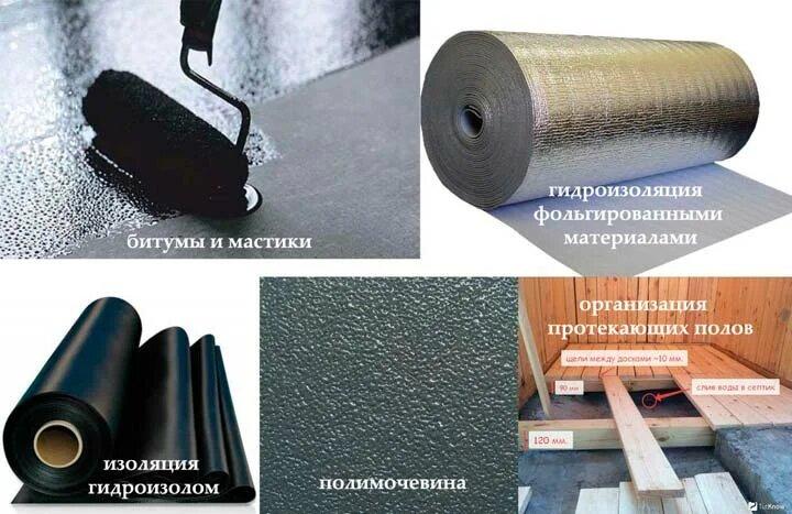 выбор материалов для гидроизоляции